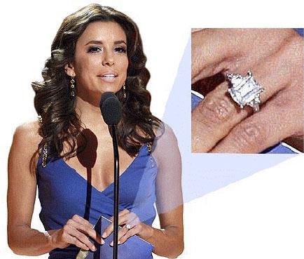 Eva Longoria S Three Stone Engagement Ring Miadonna