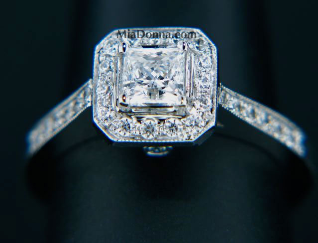customprincessengagementring by MiaDonna&Co.