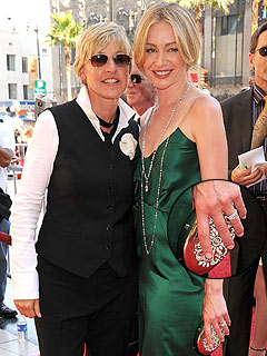 Ellen proposed to long time girl friend Portia with a 3 carat Marquise    Ellen Degeneres And Portia De Rossi Wedding Ring