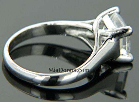"Engagement Rings 3ct Asscher cut Platinum ""Lucida"" Tiffany s r"