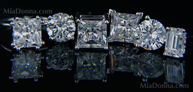 Simulated diamond earrings groupon