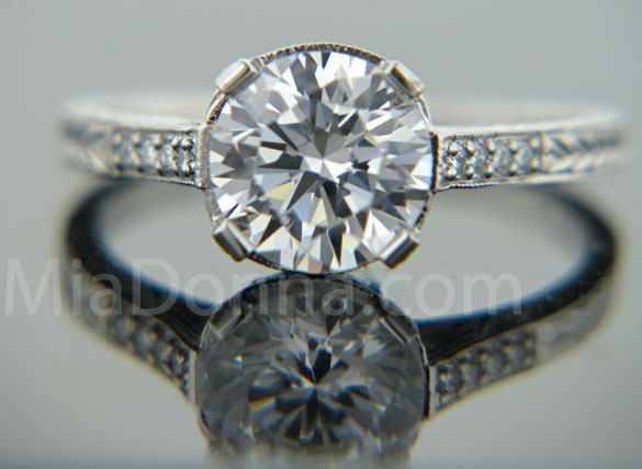 Diamonds Engagement Rings on Engagement Rings   Miadonna Man Made Diamonds   Hybrids   Part 5