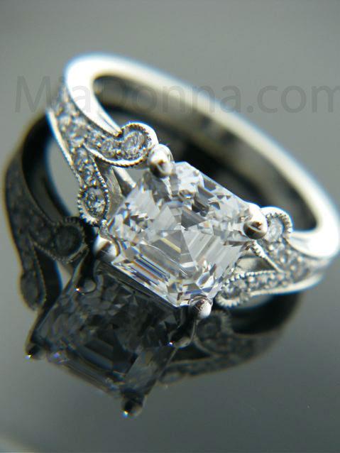 Modified O Hara Antique Engagement Ring MiaDonna Diamond Blog