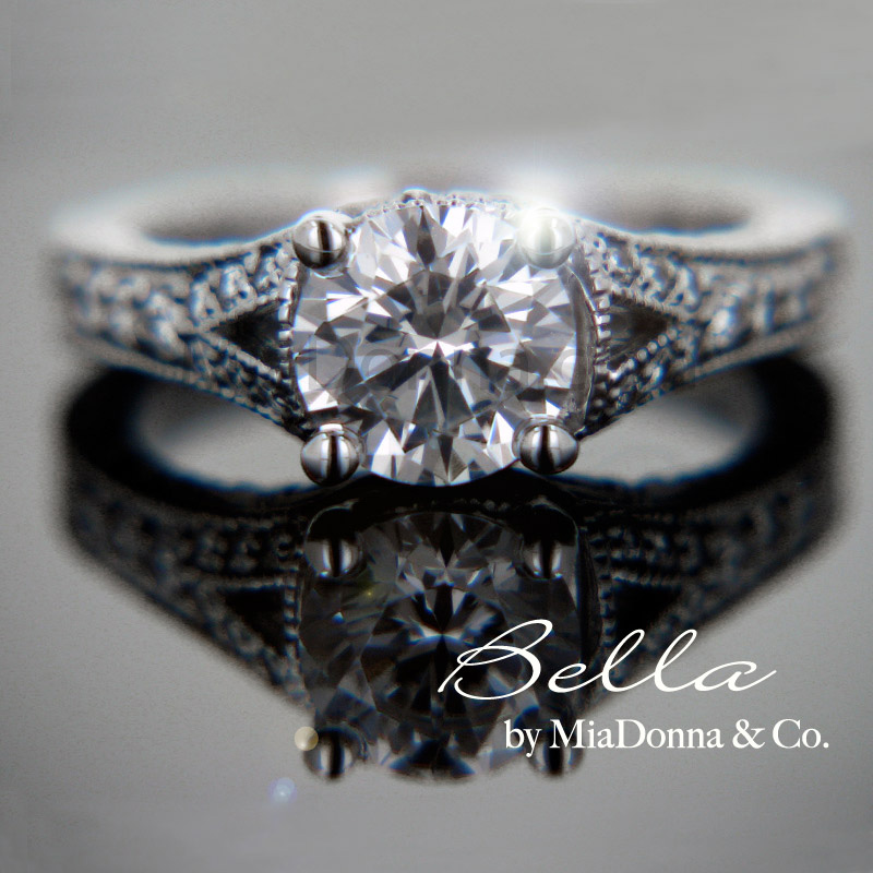 Of all engagement rings and wedding rings sold are set with either a