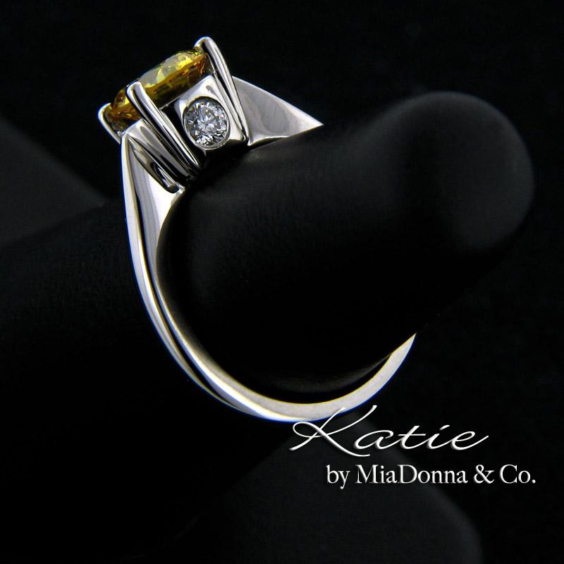 Apollo Synthetic Diamond Engagement Rings