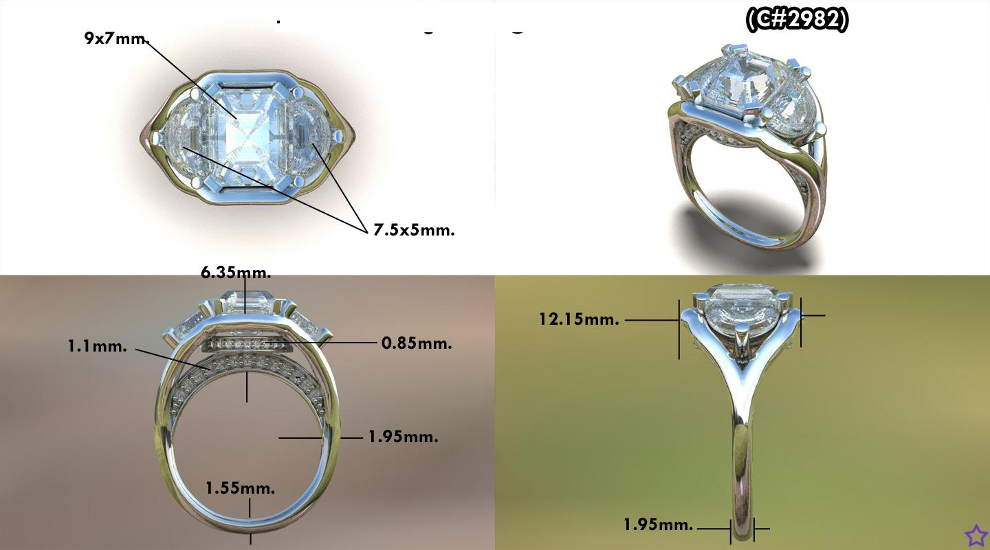 engagement rings cubic your replica design products ring and custom made jewellery detail own zirconia