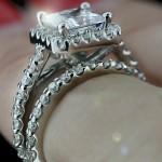 WeddingSet_Princess_Halo_EngagementRing_paveband_2