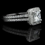 Kenya: Princess cut Diamond Hybrid®