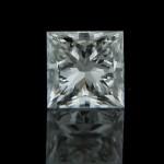 Princess cut: 1.14ct, J color, VS1 Man Made Diamond