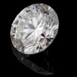 Round cut: 1.10ct, J color, VS2 Man Made Diamond