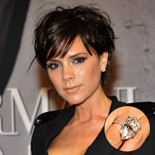 Celebrity Inspired Engagement Rings Victoria Beckham Engagement Ring