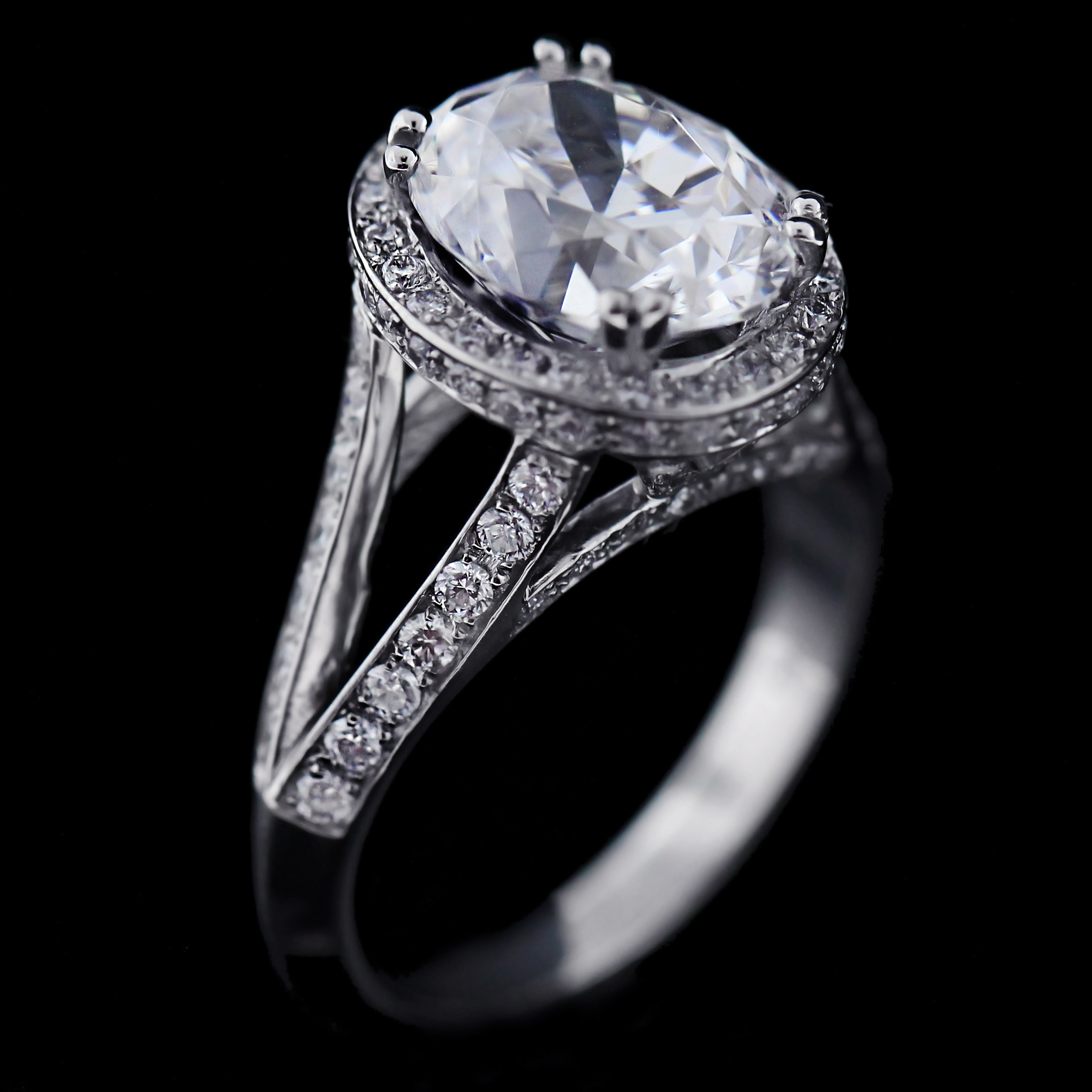 The Great Gatsby Daisy's 1920's Engagement Ring Kat Antique Engagement Ring