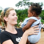 Anna-Mieke in Africa visiting TGD projects