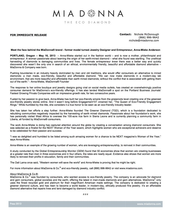 MiaDonna_PressRelease_May16_2013.docx copy