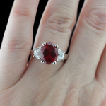 Celestial Three Stone Ring_Ruby Gemstone copy