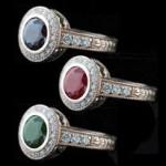 Renee Antique Engagement Ring_Alexandrite Gemstone