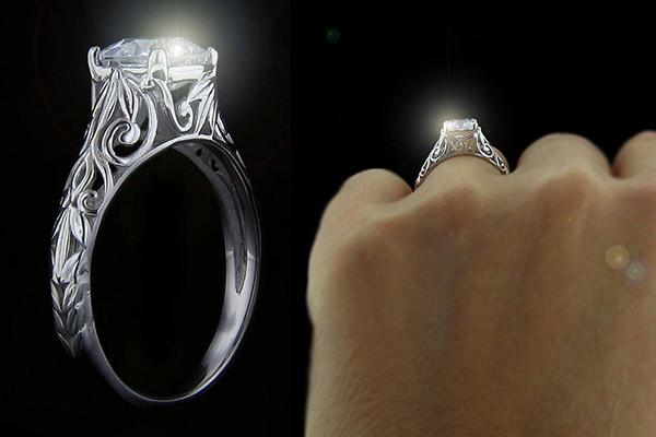 MiaDonna_Tory-Antique-Engagement-Ring_Adam-Levine_Behati-Prinsloo