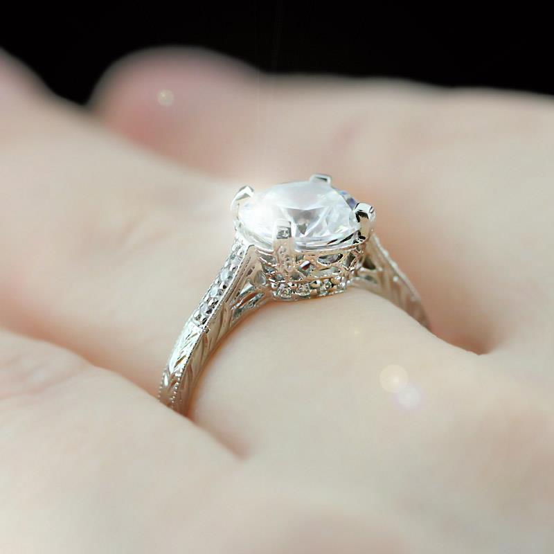 Celebrity Wedding Sets: Vintage Engagement Ring's Trend