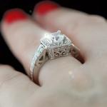 MiaDonna_Custom Antique Engagement RIng
