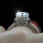 Custom Antique Engagement Ring
