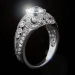 MiaDonna_Gwen Antique Engagement RIng
