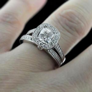 MiaDonna Luxury Antique Wedding Ring Set