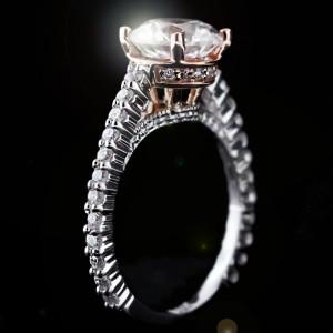 MiaDonna_Custom Engagement Ring_TwoTone