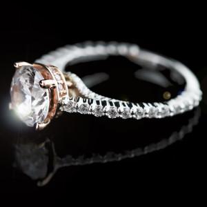 MiaDonna_Custom Engagement Ring_Two Tone