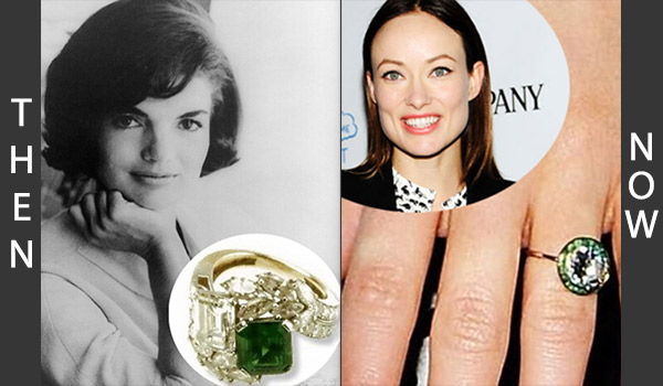 Then: Jackie Kennedy And Now: Olivia Wilde