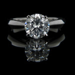 Tracie Solitaire Engagement Ring