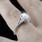 Empress Antique Engagement Ring