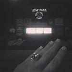 Kim Kardashian's Engagement Ring from Kanye West courtesy of EOnline