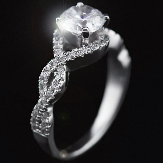 infinity engagement ring miadonna 174 the future of 174