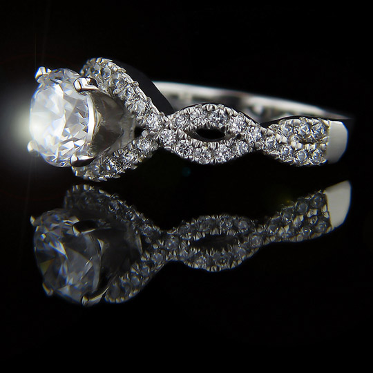 Infinity Engagement Ring Archives MiaDonna Diamond Blog