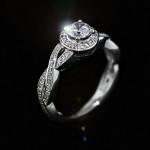 Petals Engagement Ring