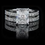Novu Wedding Ring Set by MiaDonna