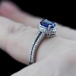Kenya Pave Engagement Ring