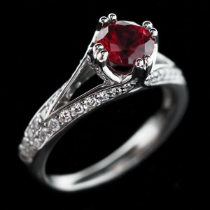 Phoebe Antique Engagement Ring