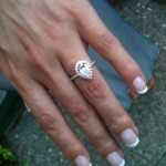 New Year's Proposal_MiaDonna Custom Engagement Ring