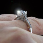 Custom Antique Engagement Ring by MiaDonna