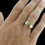 Yellow Round cut Gemesis Diamond