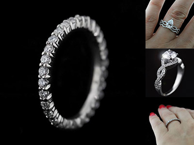 Eternity Bands and Infinity Bands