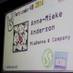 MiaDonna CEO Anna-Mieke honored at PBJ Top 40 Luncheon