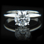 Tiffany Solitaire Engagement Ring