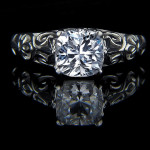 Tory Antique Engagement Ring