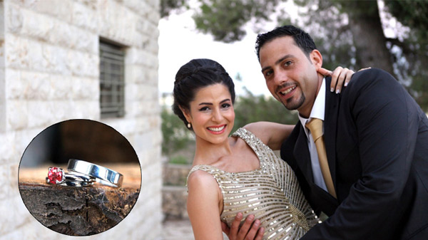 MiaDonna Featured Celebrity Couple - Janan and Firas