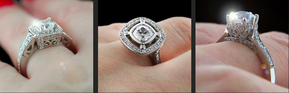 Custom Design your dream Engagement Ring with MiaDonna