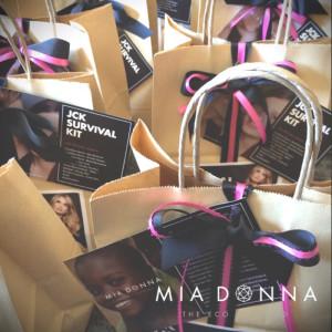 MiaDonna Media Kits for the 2014 JCK Las Vegas