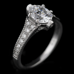 Greta Vintage Engagement Ring