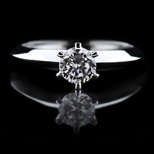 Tessie 6 prong engagement ring